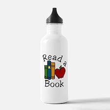 Read A Book Water Bottle