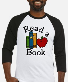 Read A Book Baseball Jersey