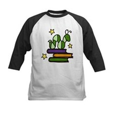 Books And Worm Tee