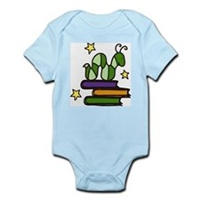 Books And Worm Infant Bodysuit