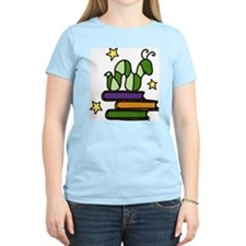 Books And Worm T-Shirt