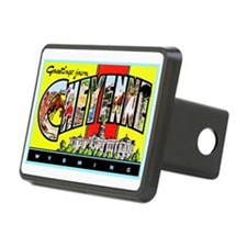 Cheyenne Wyoming Greetings Hitch Cover