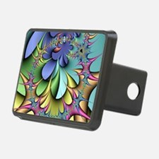Julia fractal - Hitch Cover