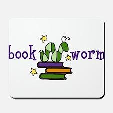 Book Worm Mousepad