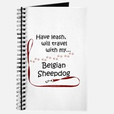 Belgian Sheepdog Travel Leash Journal