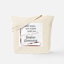 Belgian Sheepdog Travel Leash Tote Bag