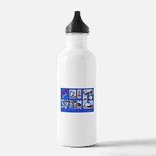 Big Spring Texas Greetings Water Bottle