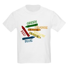 Colored Crayons T-Shirt