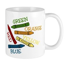 Colored Crayons Mug