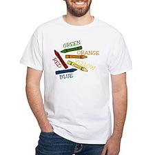 Colored Crayons Shirt