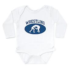 Wrestling (blue circle) Body Suit