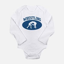 Wrestling (blue circle) Body Suit