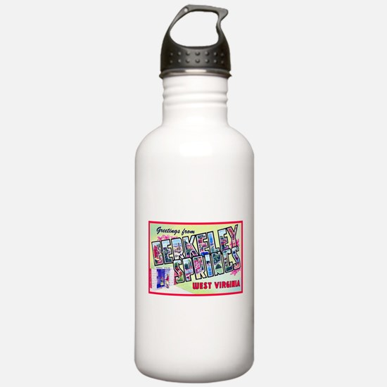 Berkeley Springs West Virginia Water Bottle