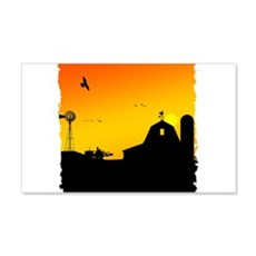 Morning of the Farm Wall Decal
