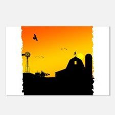 Morning of the Farm Postcards (Package of 8)