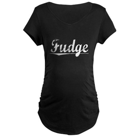 Fudge, Vintage Maternity Dark T-Shirt