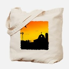 Morning of the Farm Tote Bag