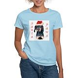 Black and tan coonhound Women's Light T-Shirt