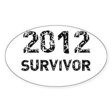 2012 survivor Decal