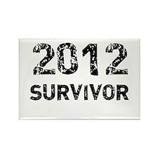 2012 survivor Rectangle Magnet
