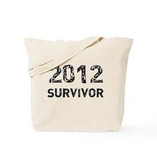 2012 survivor Tote Bag