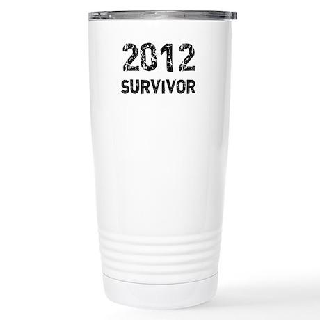2012 survivor Stainless Steel Travel Mug