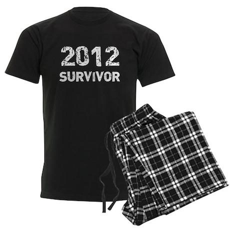 2012 survivor Men's Dark Pajamas