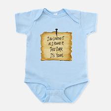 Wyatts Sign Infant Bodysuit