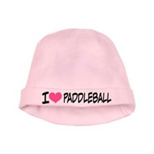 I Heart Paddleball baby hat