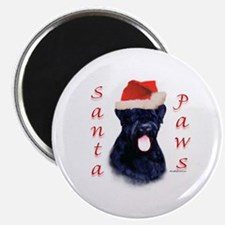 Black Russian Paws Magnet