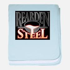 Rearden Steel Pouring Metal baby blanket