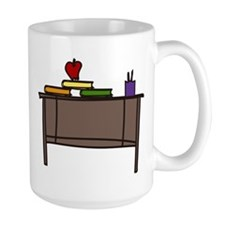 School Teacher Desk Mug
