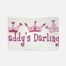 Daddys Darlings Rectangle Magnet