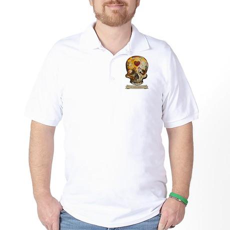 Sugar Skull 2 banner png Golf Shirt