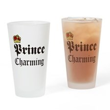Prince Charming Drinking Glass