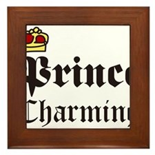 Prince Charming Framed Tile