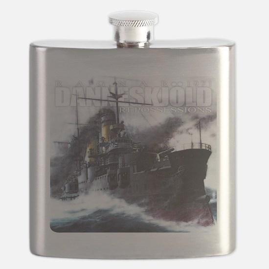 Danneskjold Repossessions Ship Flask
