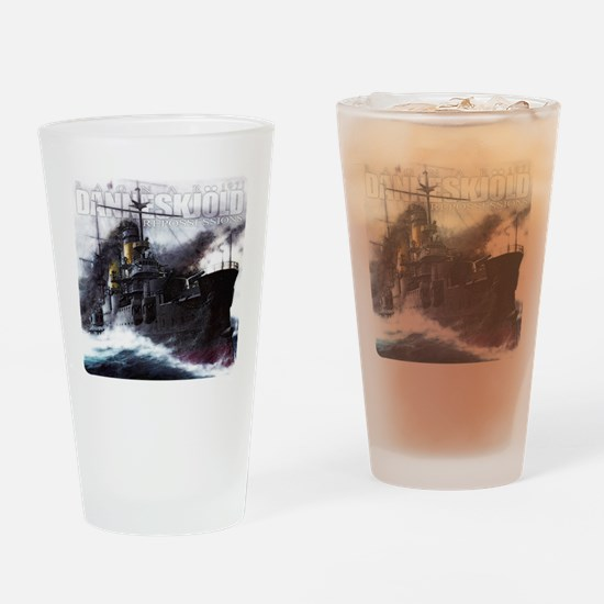 Danneskjold Repossessions Ship Drinking Glass