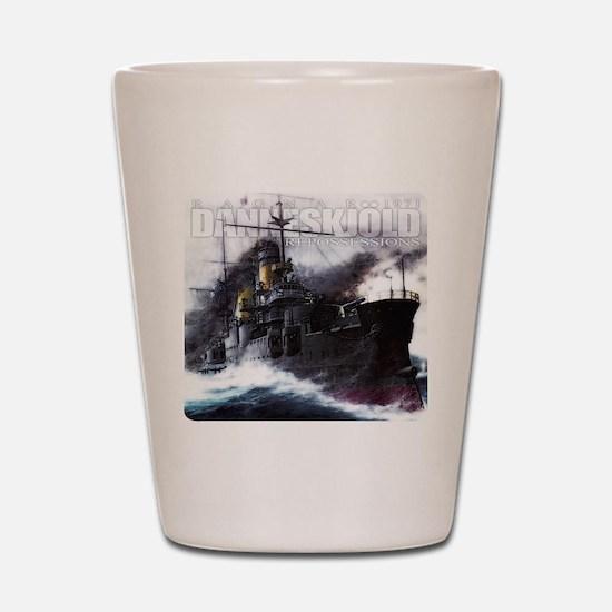 Danneskjold Repossessions Ship Shot Glass