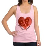 heart_cheap_date.png Racerback Tank Top