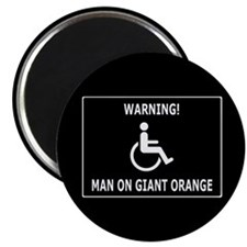 Giant freaking orange Magnet