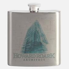Howard Roark Architect Flask