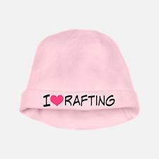I Heart Rafting baby hat