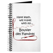 Bouvier Travel Leash Journal