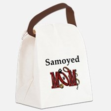 Samoyed Mom Canvas Lunch Bag