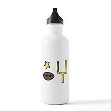 Football Stuff Water Bottle