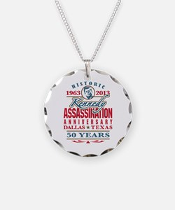 Kennedy Assassination Anniversary 2013 Necklace