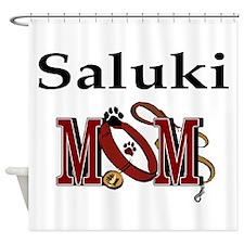 Saluki Mom Shower Curtain