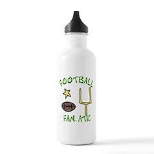 Football Fanatic Water Bottle