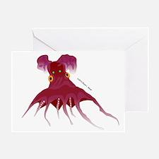 Vampire Squid (Octopus) Greeting Card